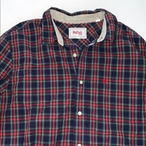 Holiday Plaid Long sleeve button down size L